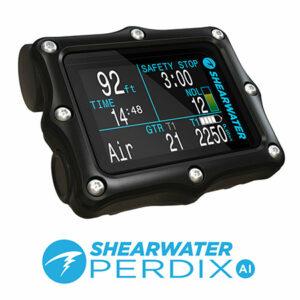 Ordinateur de plongée Shearwater Perdix AI